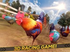 Wild Rooster Run - Frenzy Chicken Farm Race 2.11.9 Screen 3