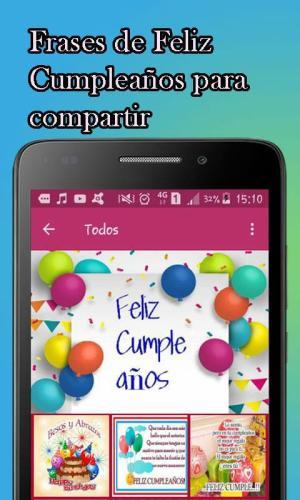 Android Feliz Cumpleaños Screen 2