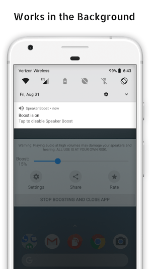 Speaker Boost - Volume Booster 3.0.11 Screen 12