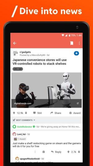 Reddit 2021.6.0 Screen 4