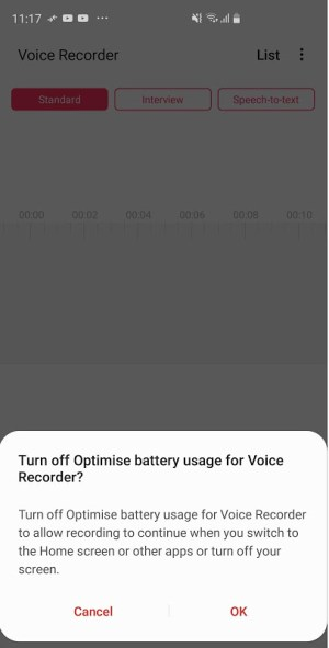Samsung Voice Recorder 21.2.20.28 Screen 5