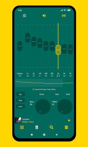 Android Aurora - Material Poweramp v3 Skin Screen 6