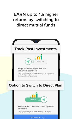 Mutual Funds, SIP, Loan, Credit, Expenses: ETMONEY 3.1.8.7 Screen 5