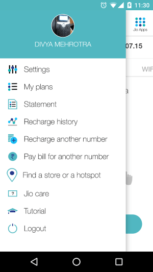 MyJio 3.2.13 Screen 2