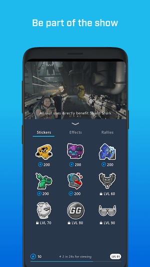 Mixer – Interactive Streaming 4.10.0 Screen 2