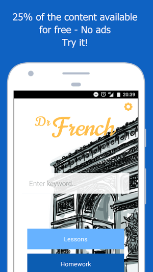 Dr French, French grammar 1.0.10 Screen 4