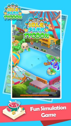 Android Idle Park Tycoon Screen 1