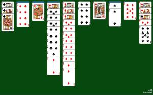 Spider Solitaire 1.05 Screen 3