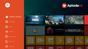 Aptoide TV 5.1.1 Mod V.R Screen 1