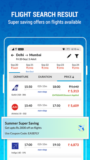 EaseMyTrip – Cheap Flights, Hotels, Bus & Holidays 3.10.2 Screen 7