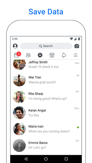Facebook Lite 186.0.0.6.119 Screen 3