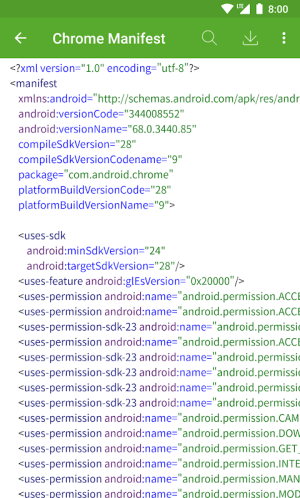 Dev Tools(Android Developer Tools) 3.1.2 Screen 4