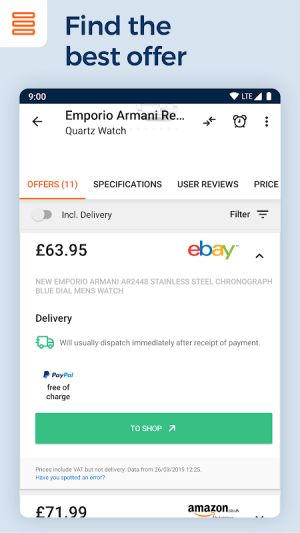 idealo - Price Comparison & Mobile Shopping App 15.4.1 Screen 11