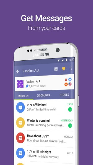 Cards - Mobile Wallet 2.20 Screen 4