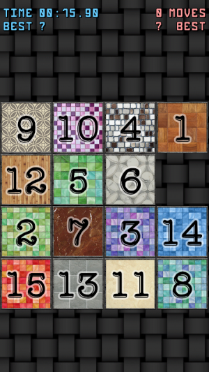 15-puzzle (Sliding puzzle) 1.0 Screen 1