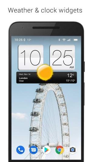 Sense V2 Flip Clock & Weather 5.50.0.1 Screen 13