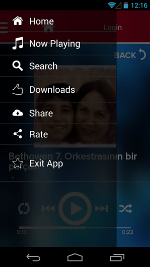 Android Music Player , MP3 Downloader Screen 3
