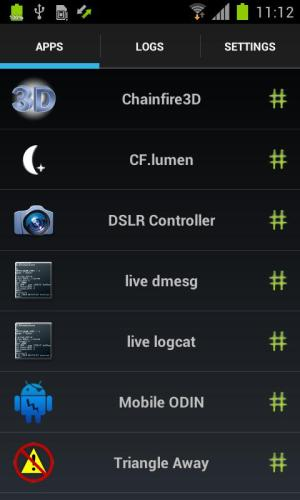 Android SuperSU Pro Screen 5