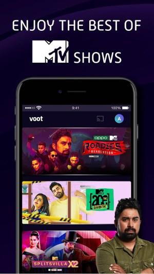 Voot Select Originals, Bigg Boss, MTV, Colors TV 4.0.7 Screen 4