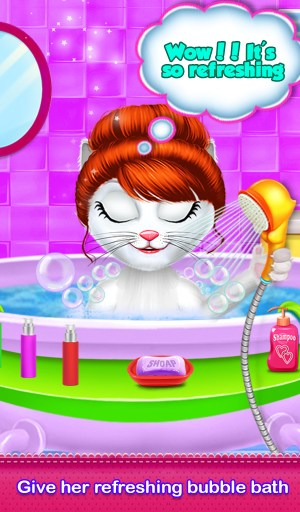 Kitty Daily Activities Game 1.0.1 Screen 1