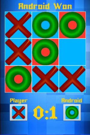 Android Smart Tic Tac Toe Screen 4