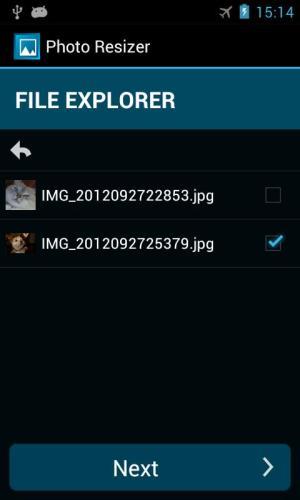 Photo Resizer 1.2.8 Screen 2