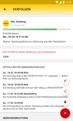 DHL Paket 2.25.1 Screen 15