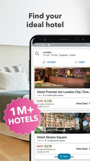 trivago: Compare Hotels & Prices for Travel Deals 5.3.9 Screen 1