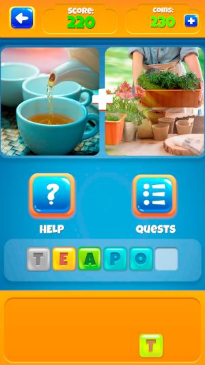 2 Pictures 1 Word - Offline Games 1.0.18 Screen 1