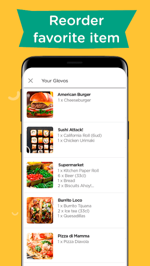 Glovo: Order Anything. Food Delivery and Much More 5.50.1 Screen 5
