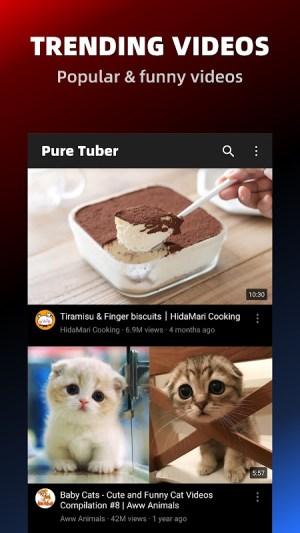 Pure Tuber - Block Ads for Video, Free Premium 2.13.6.102 Screen 6