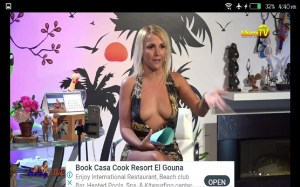 Android Jenny Live TV Screen 1