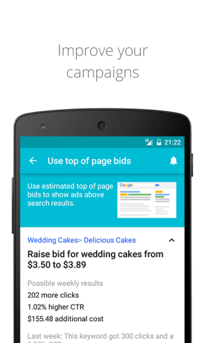 AdWords 1.10.0 Screen 3