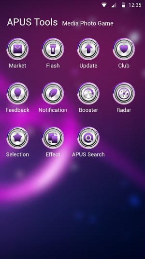 Dazzling light Theme 2 Screen 2