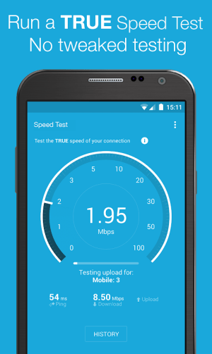 Android Speed Test & 3G 4G WiFi Maps Screen 2