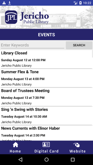 Jericho Mobile Library 4.0.5 Screen 3