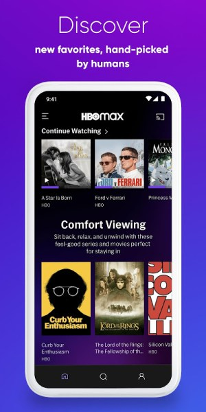 HBO Max: Stream HBO, TV, Movies & More 50.2.0.37 Screen 8