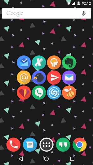 Android Click UI - Icon Pack Screen 5