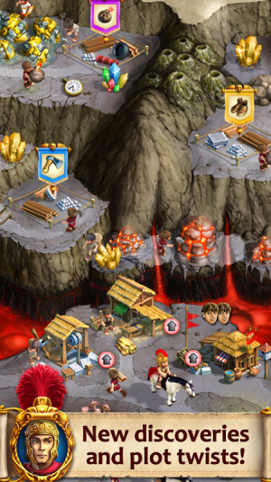Android Roads of Rome: New Generation Screen 1