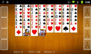 FreeCell Solitaire 2.2.2 Screen 5
