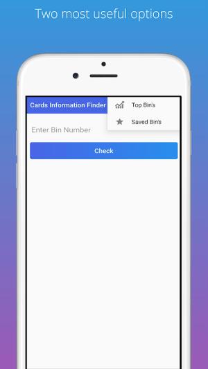 Cards Information Finder 17.0 Screen 5
