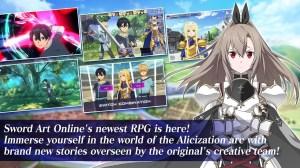 Sword Art Online Alicization Rising Steel 1.13.1 Screen 2
