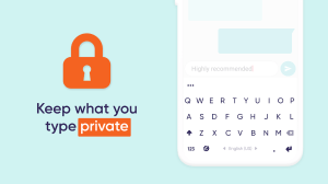 Android Fleksy: Fast Keyboard with Stickers & GIFs Screen 1