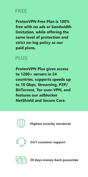 Proton VPN - Free VPN, Secure & Unlimited 2.7.56.1 Screen 4