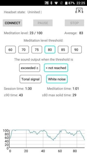 EEG Meditation 1.5 Screen 3
