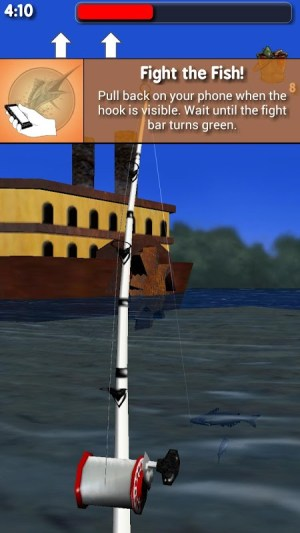 Big River Fishing 3D 1.01 Screen 4