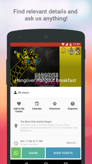 Events High - Meet Your City! 3.9.6 Screen 4
