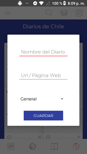 Diarios Chile 3.30 Screen 12