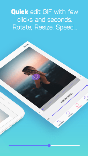 Android GIF Maker, GIF Editor, Video Maker, Video to GIF Screen 7