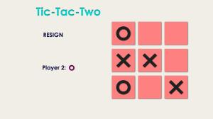 tic tac toe 0.2 Screen 3